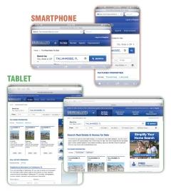 Responsive Design Smartphone Tablet